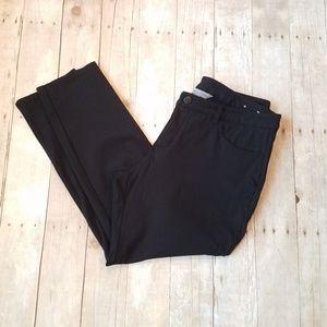 Black Pants 16P Christopher Banks Signature Slim